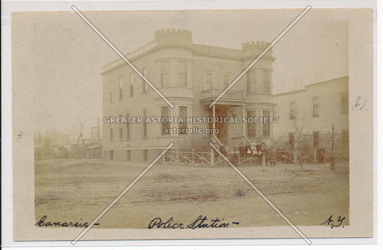 Police Station, Glenwood Road, between E 94th & 95th Sts., BK.