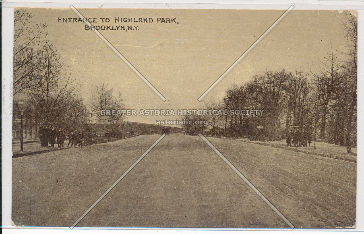 Entrance to Highland Park, BK.