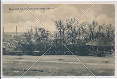 Ridgewood Pumping Station from Highland Park, BK.