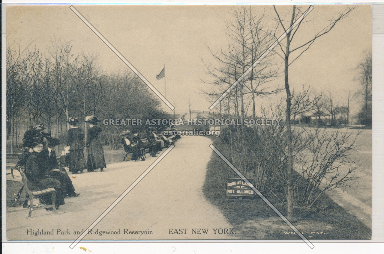 Highland Park & Ridgewood Reservoir, East New York, BK.