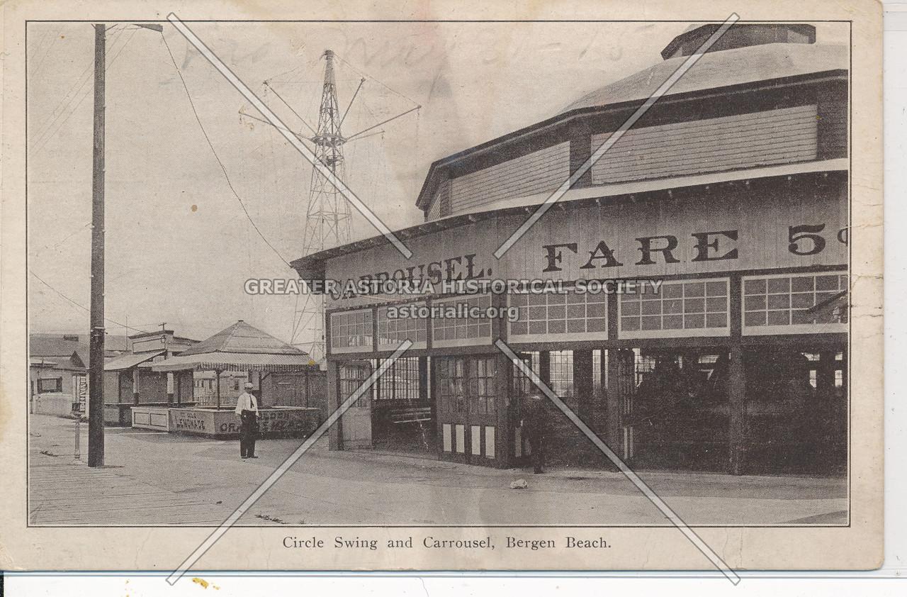 Circle Swing & Carrousel, Bergen Beach, BK.