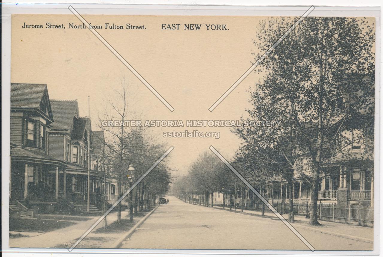 Jerome St, East New York, BK.