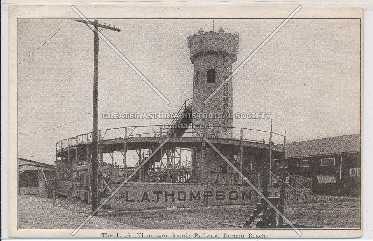The L.A. Thompson Scenic Railway, Bergen Beach, BK.