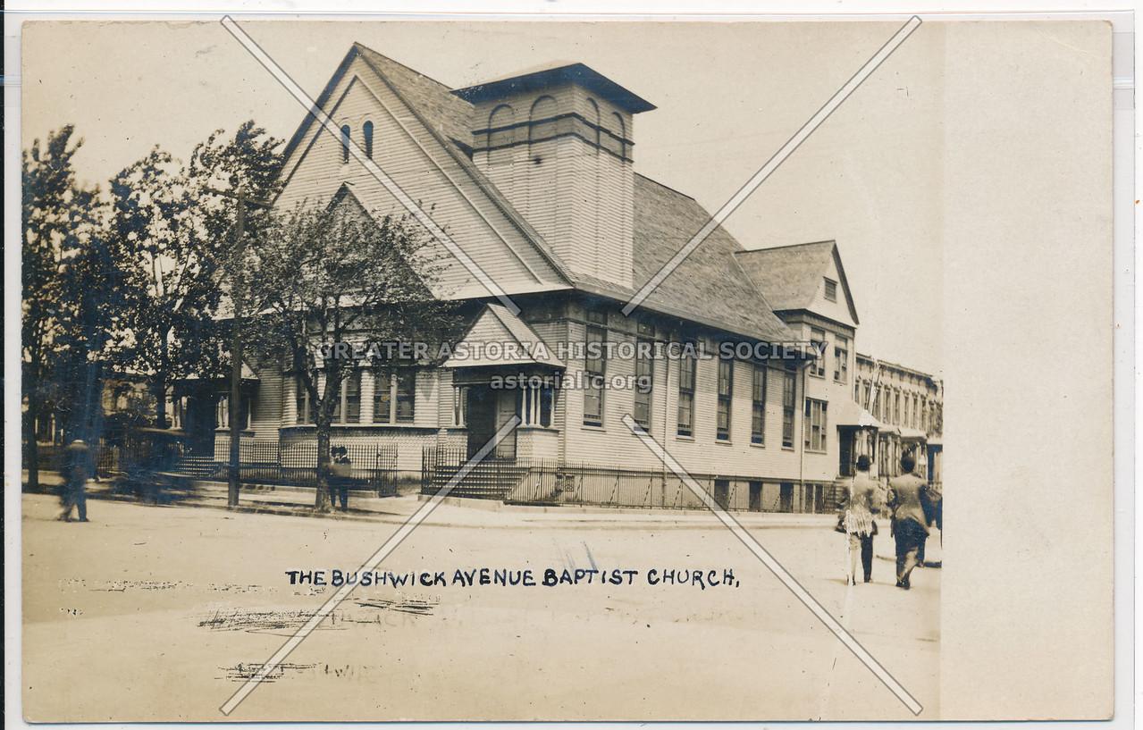 The Bushwick Avenue Baptist Church, BK.