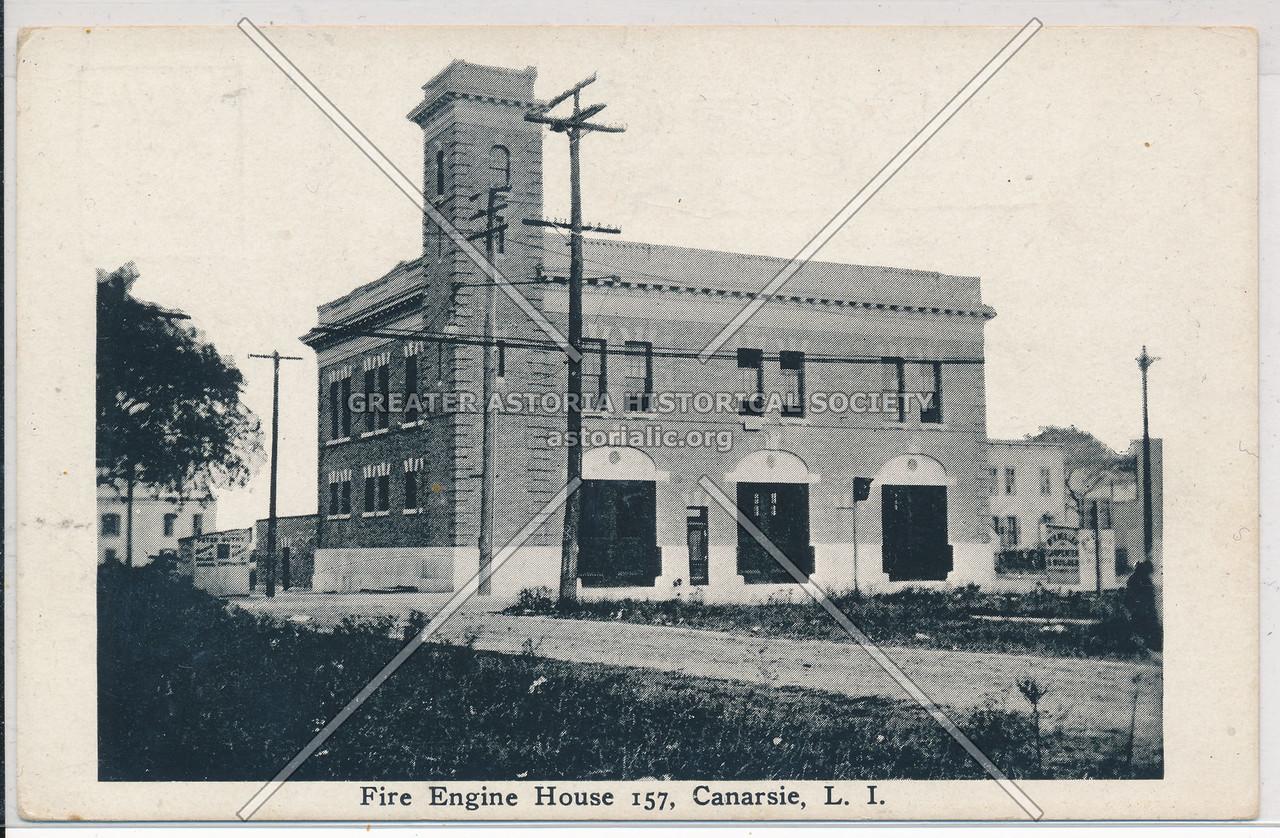 Fire Engine House 157, Canarsie, BK.