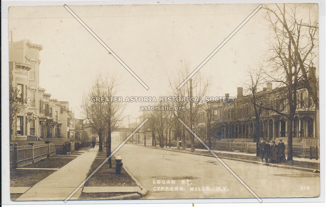 Logan Street, Cypress Hills, BK.