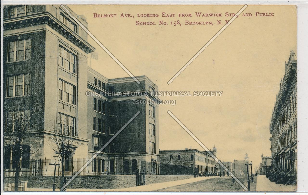 Belmont Ave & Public School 158, BK.