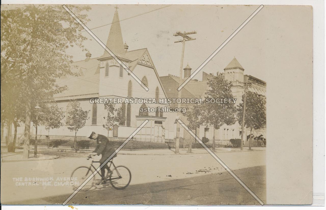 The Bushwick Ave, Central M.E. Church, BK.