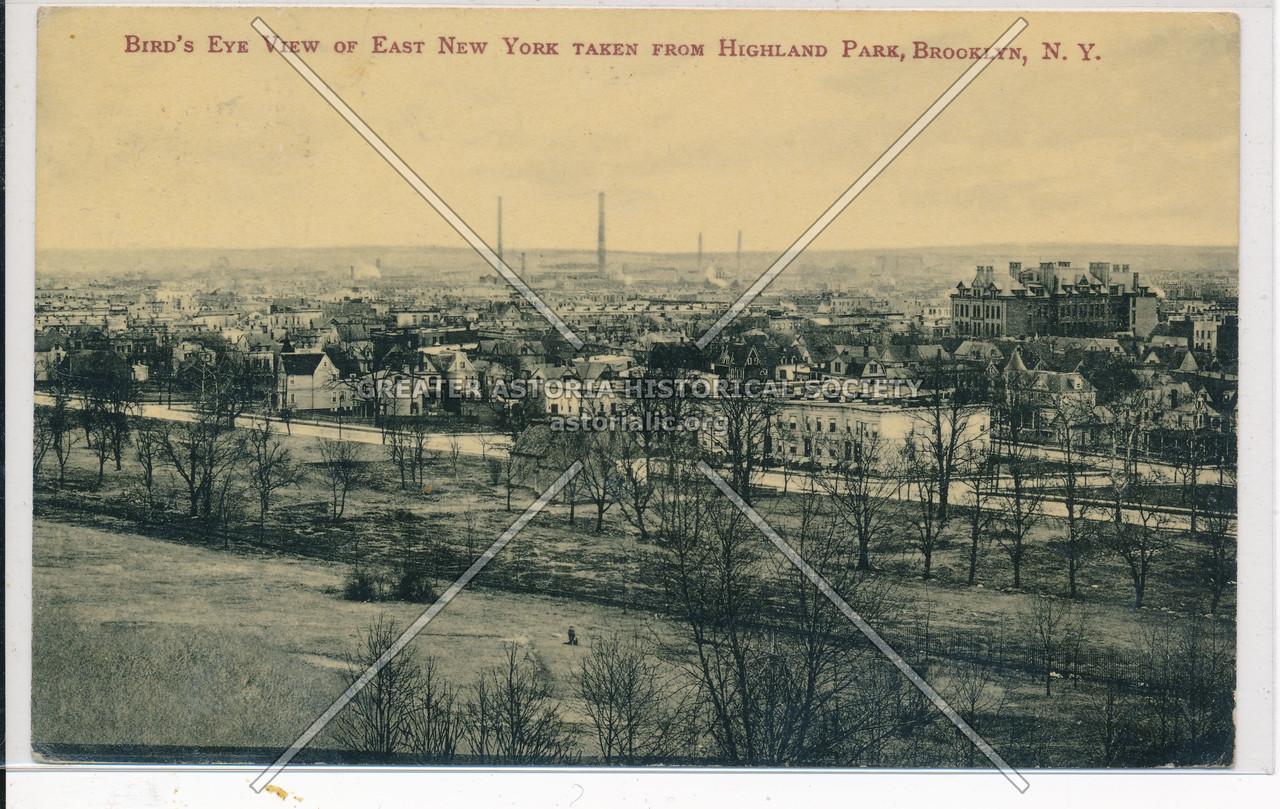 Bird's Eye View of East New York, BK.