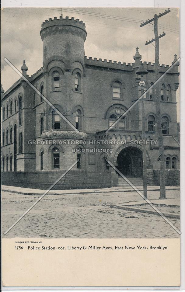Police Station, East New York, BK.