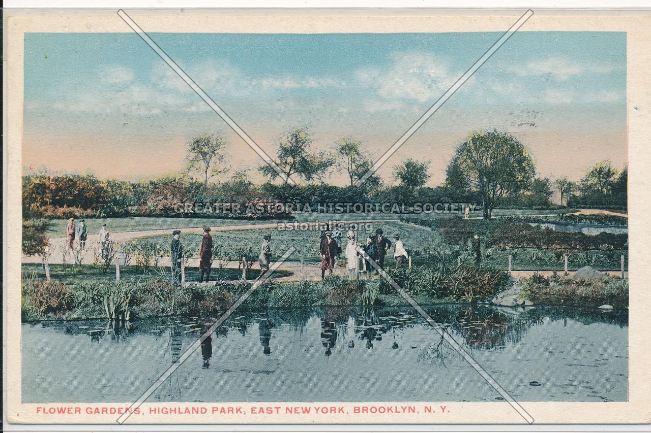 Flower Gardens, Highland Park, East New York, BK.