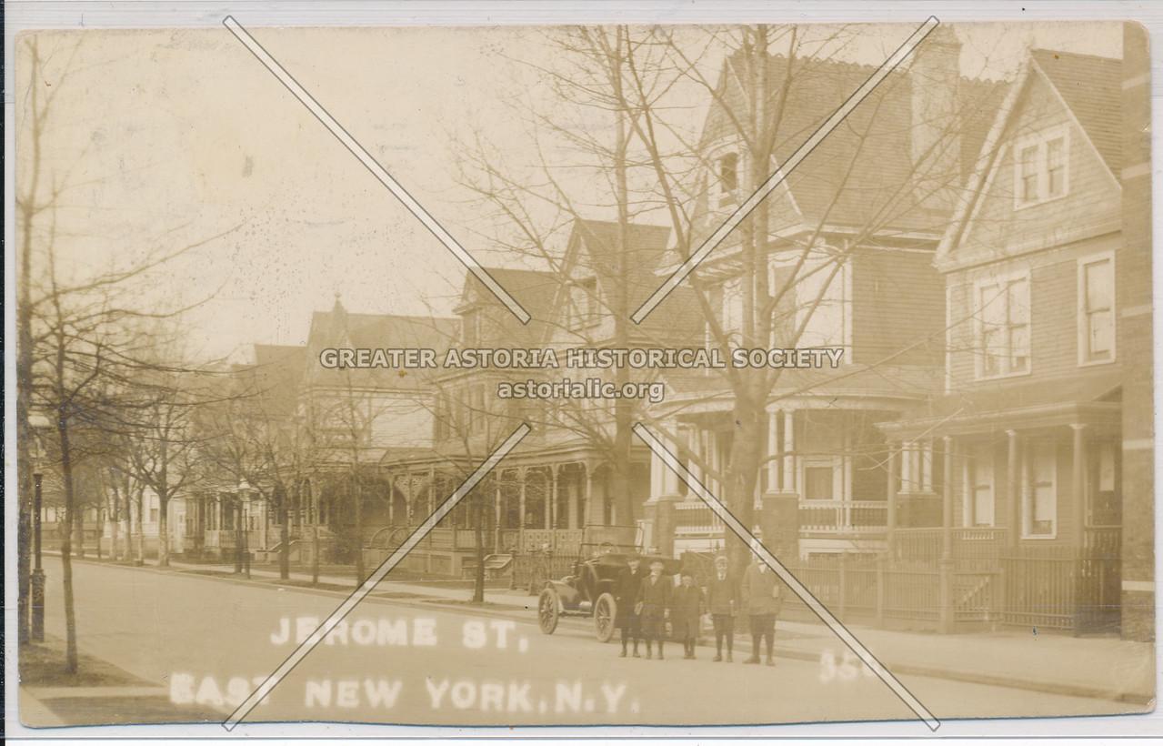 Jerome Street, East New York, BK.