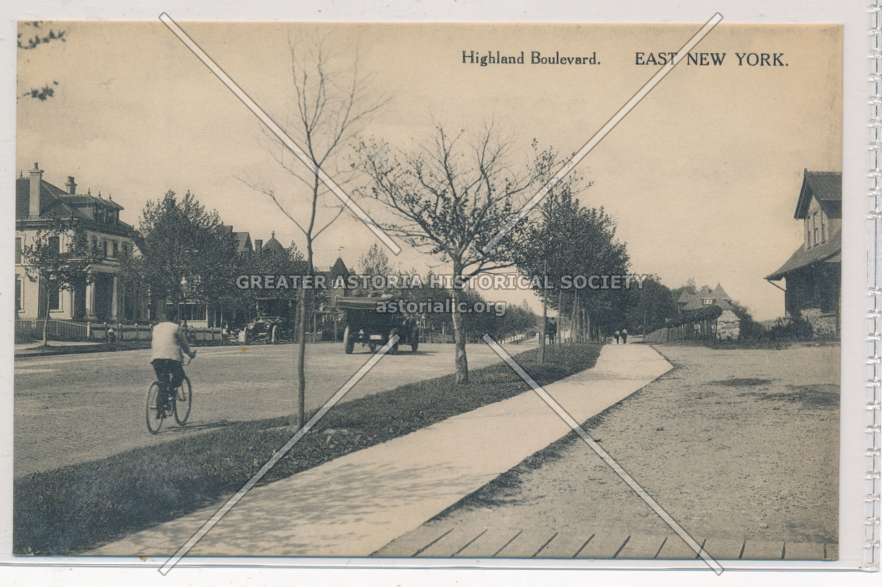 Highland Boulevard, East New York, BK.