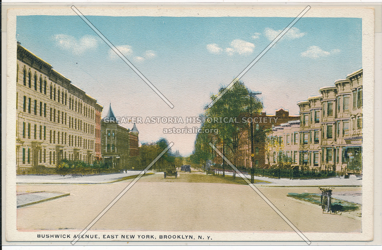 Bushwick Avenue, East New York, BK.
