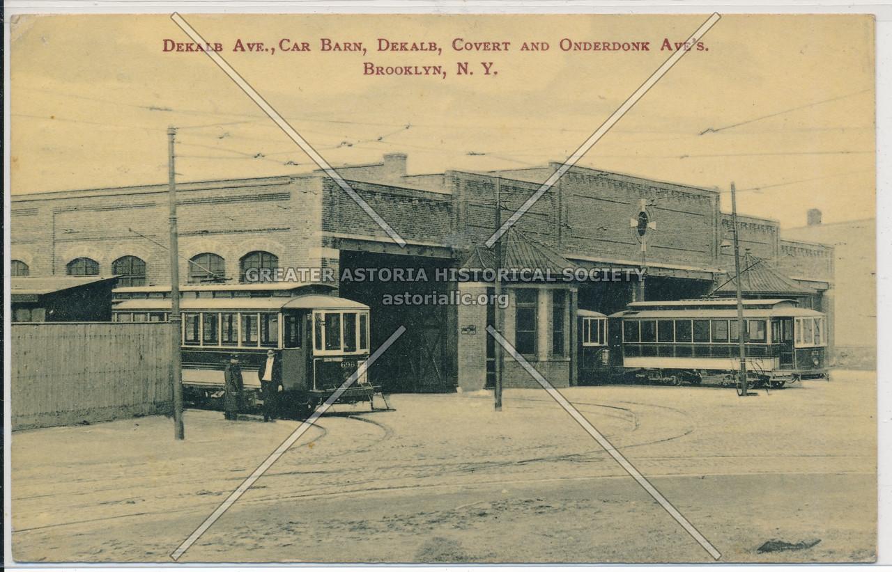 Dekalb Ave., BK.