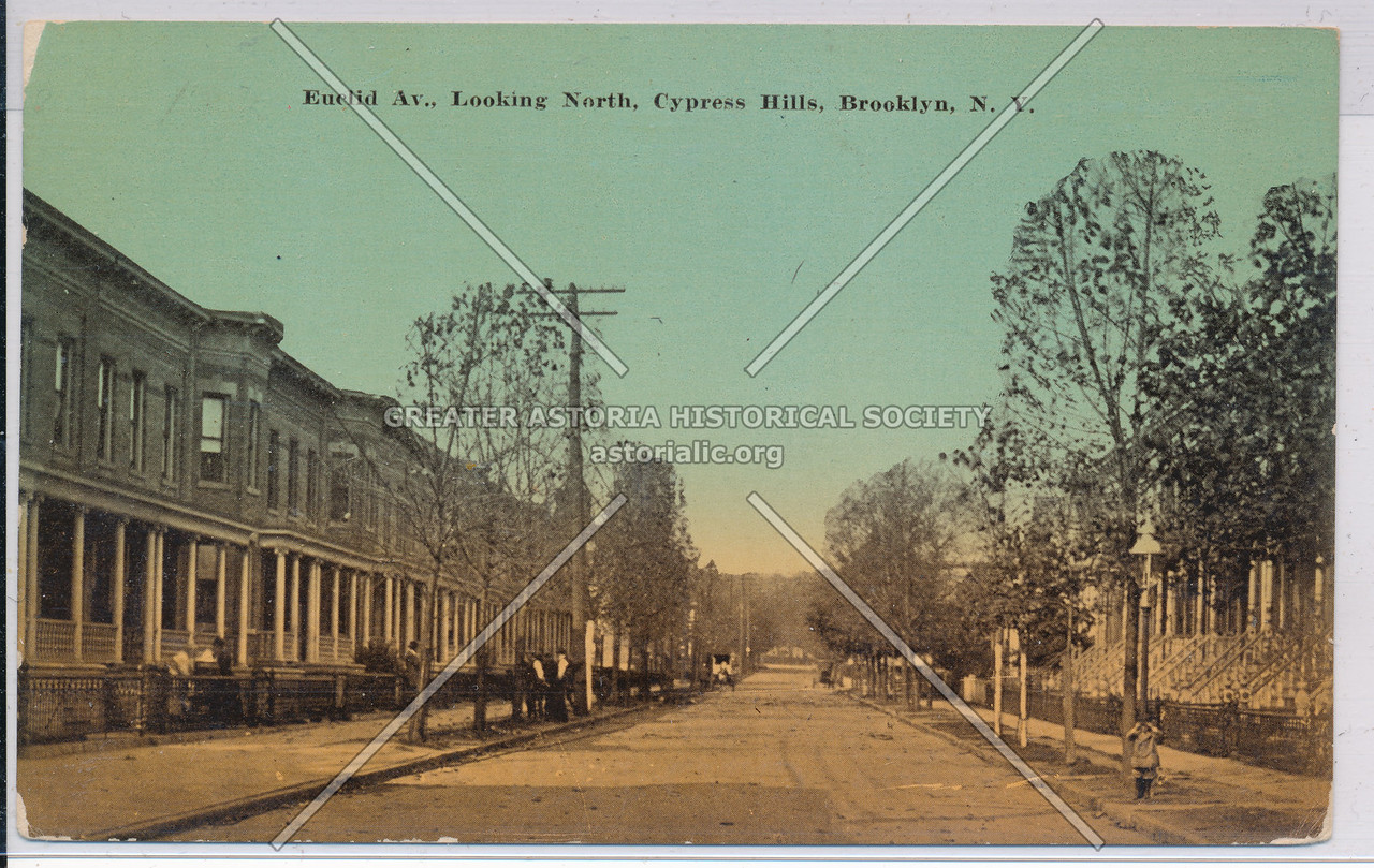 Euclid Ave., Looking North, Cypress Hills, BK.