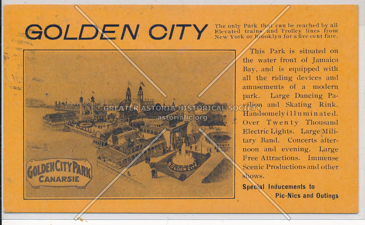 Golden City Park, Canarsie, BK.