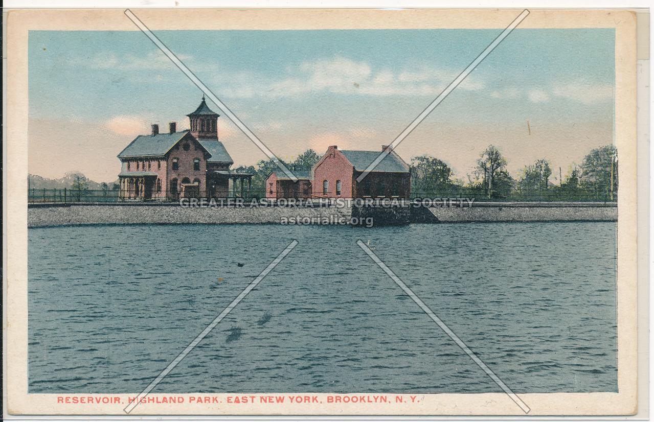 Reservoir, Highland Park, East New York, BK.