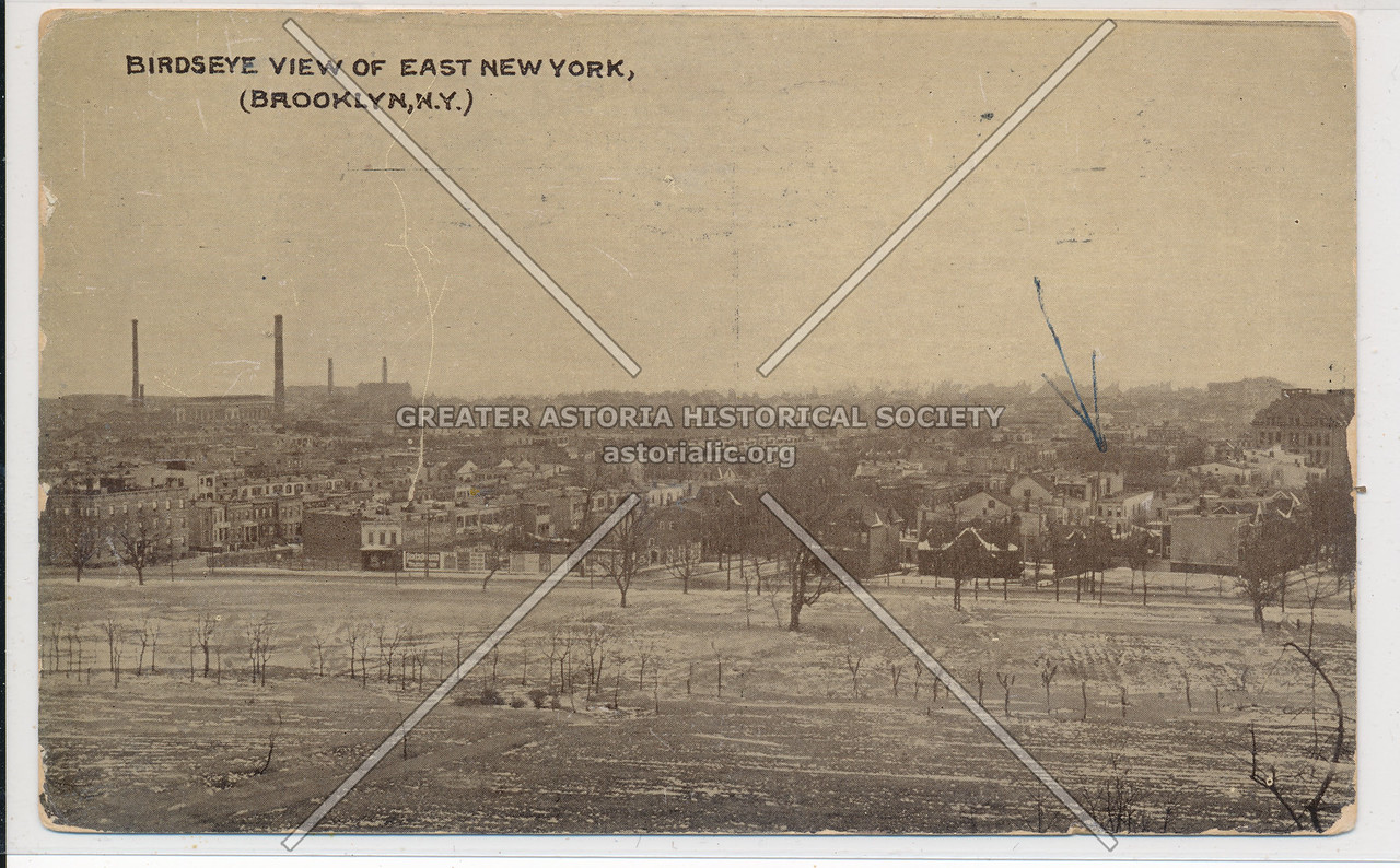 Birdseye View of East New York, BK.
