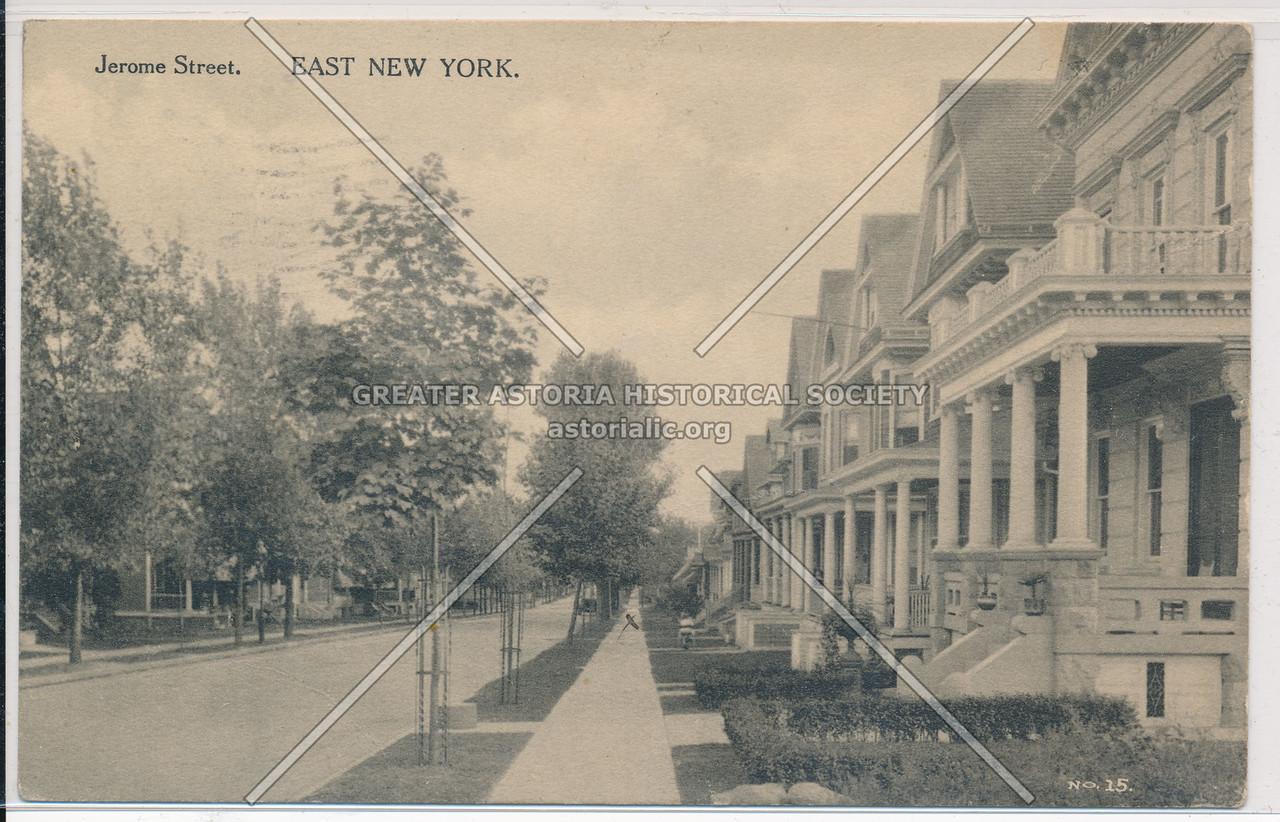 Jerome St., East New York, BK.