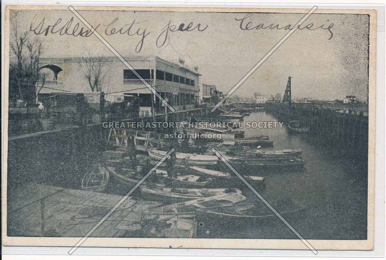 City Pier, Canarsie, BK.