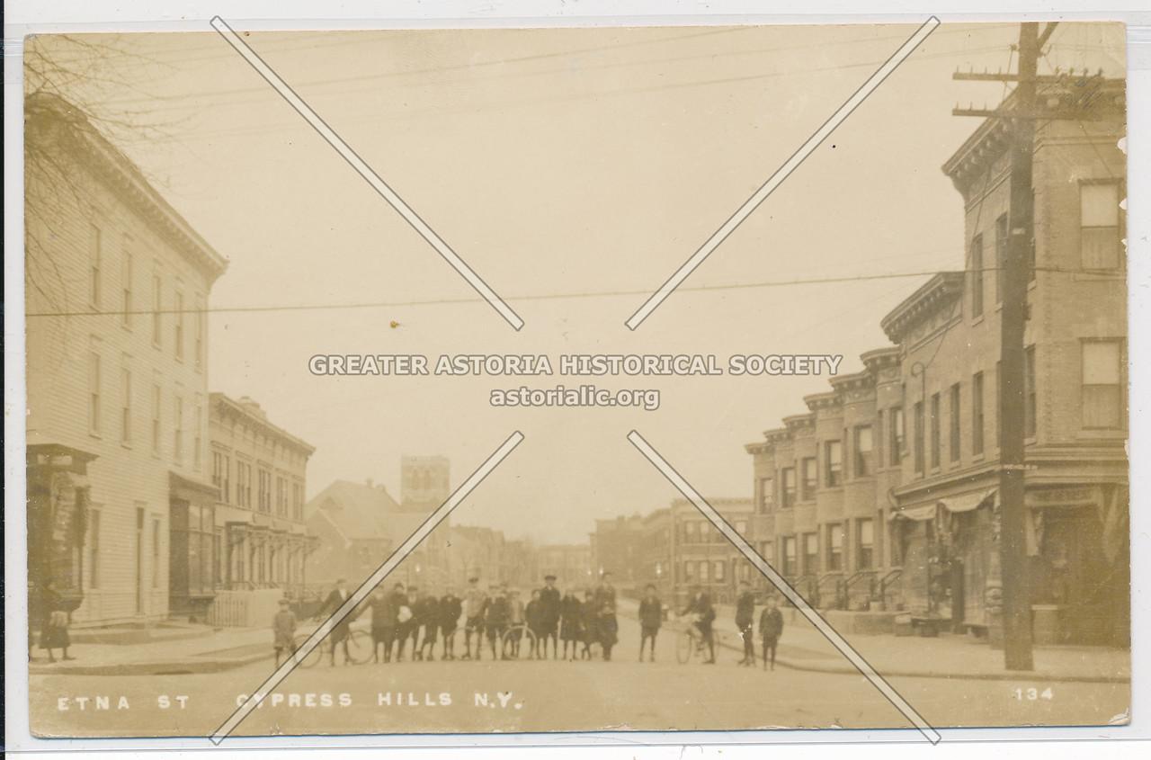 Etna Street, Cypress Hills, BK.