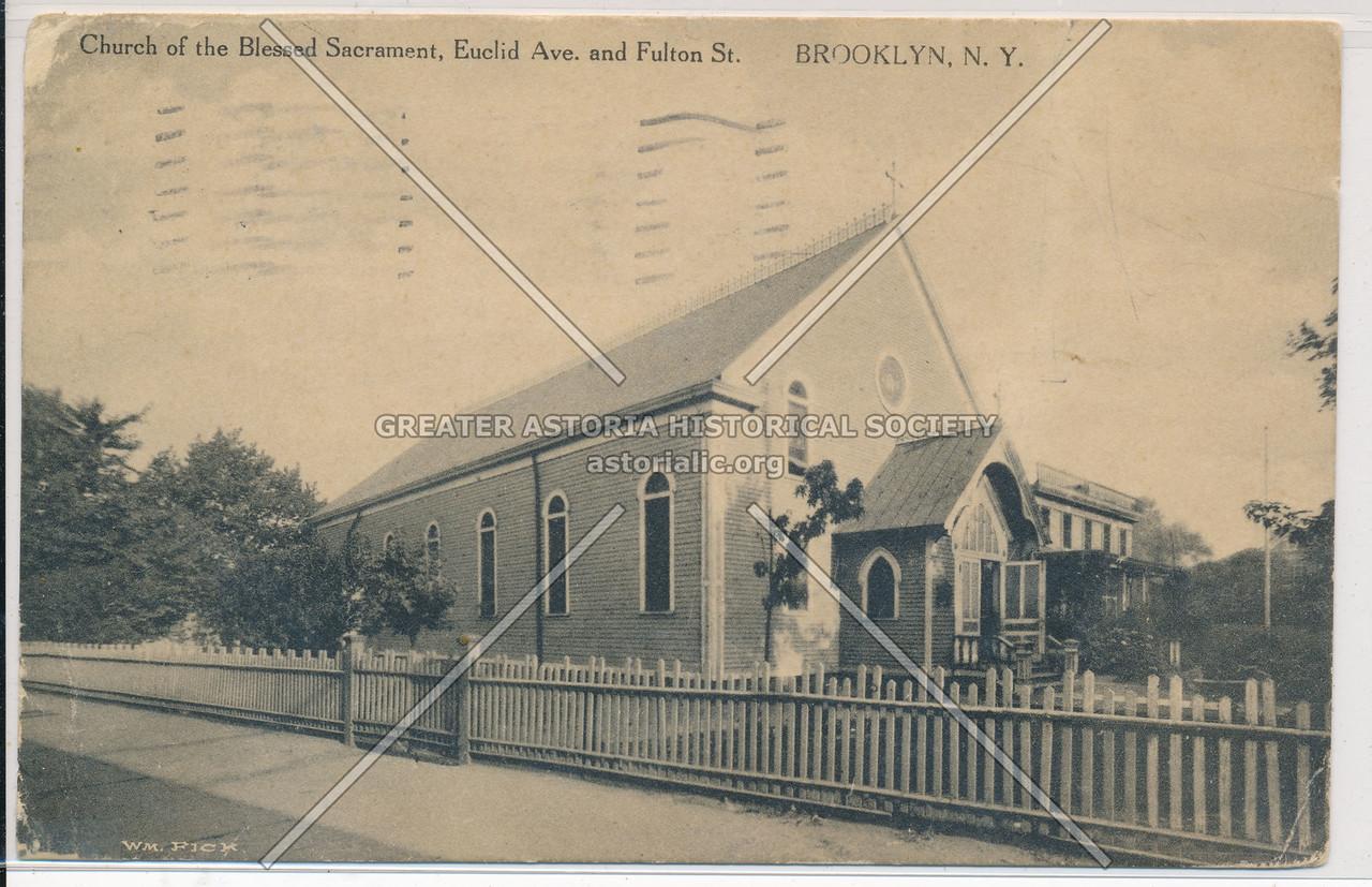 Church of the Blessed Sacrament, Euclid Ave & Fulton St., BK.