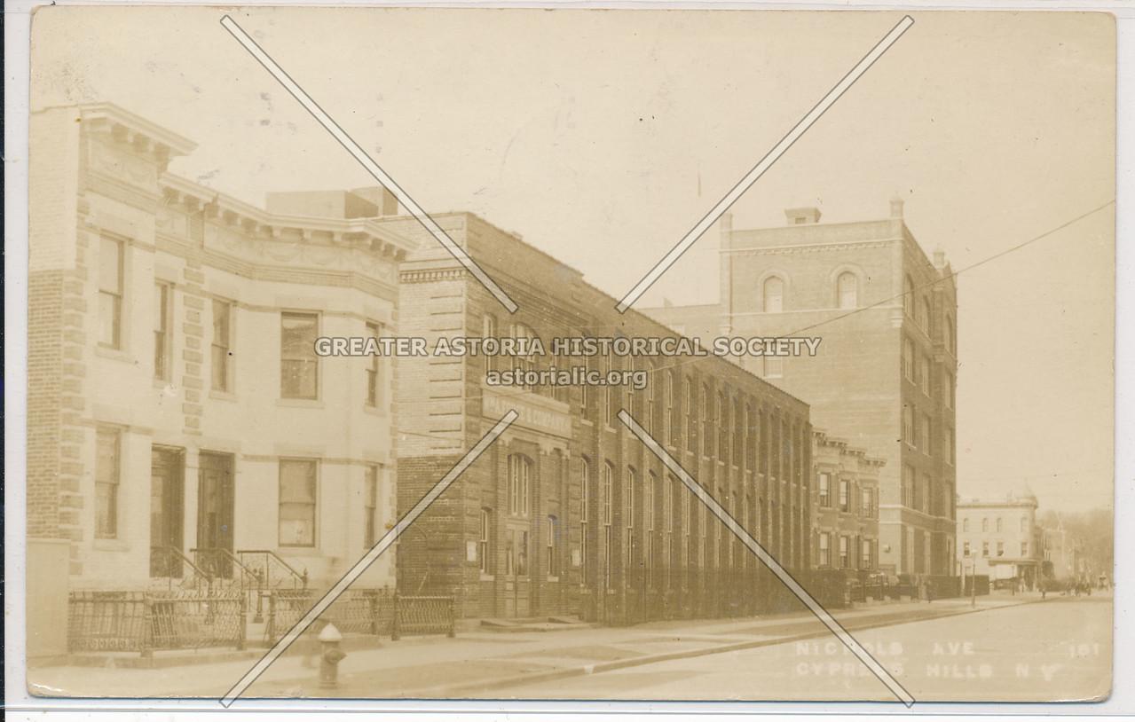 Nichols Ave., Cypress Hills, BK.
