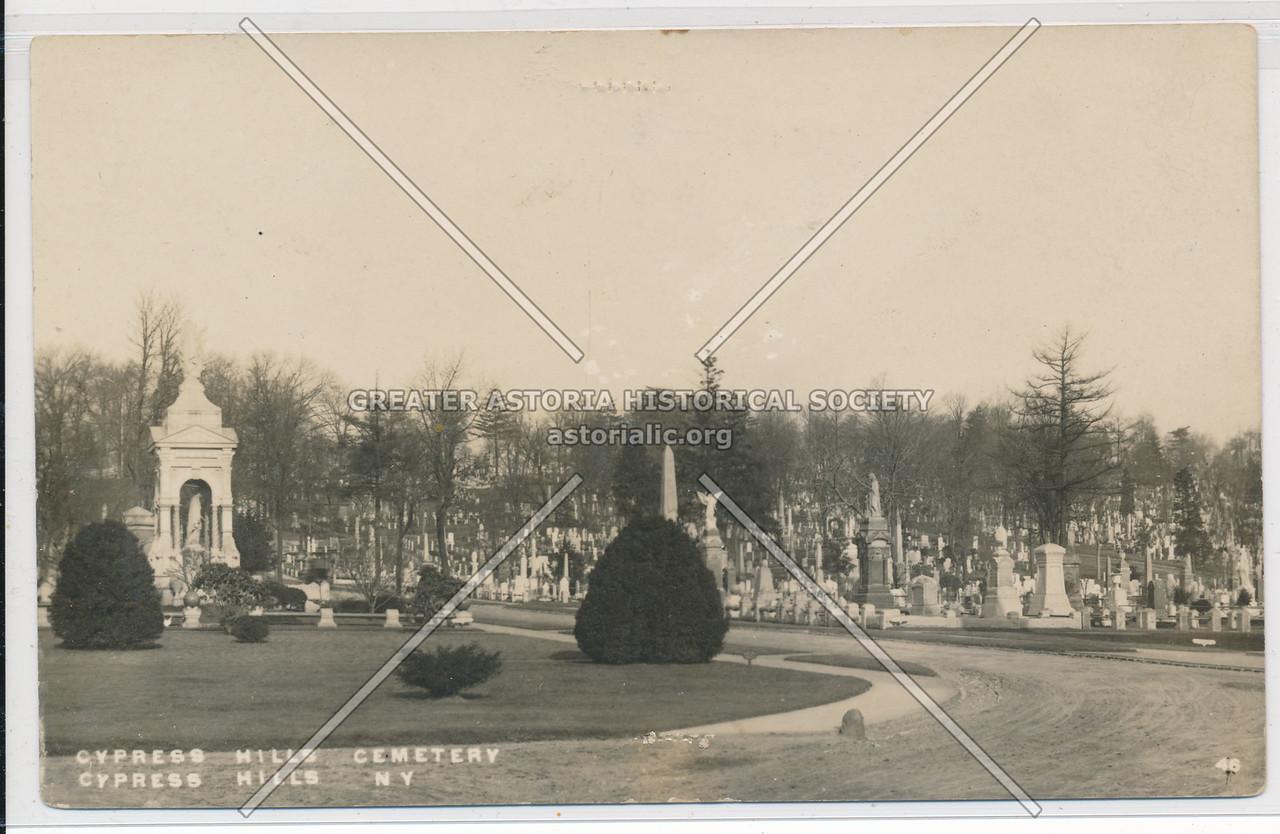 Cypress Hills Cemetery, Cypress Hills, BK.