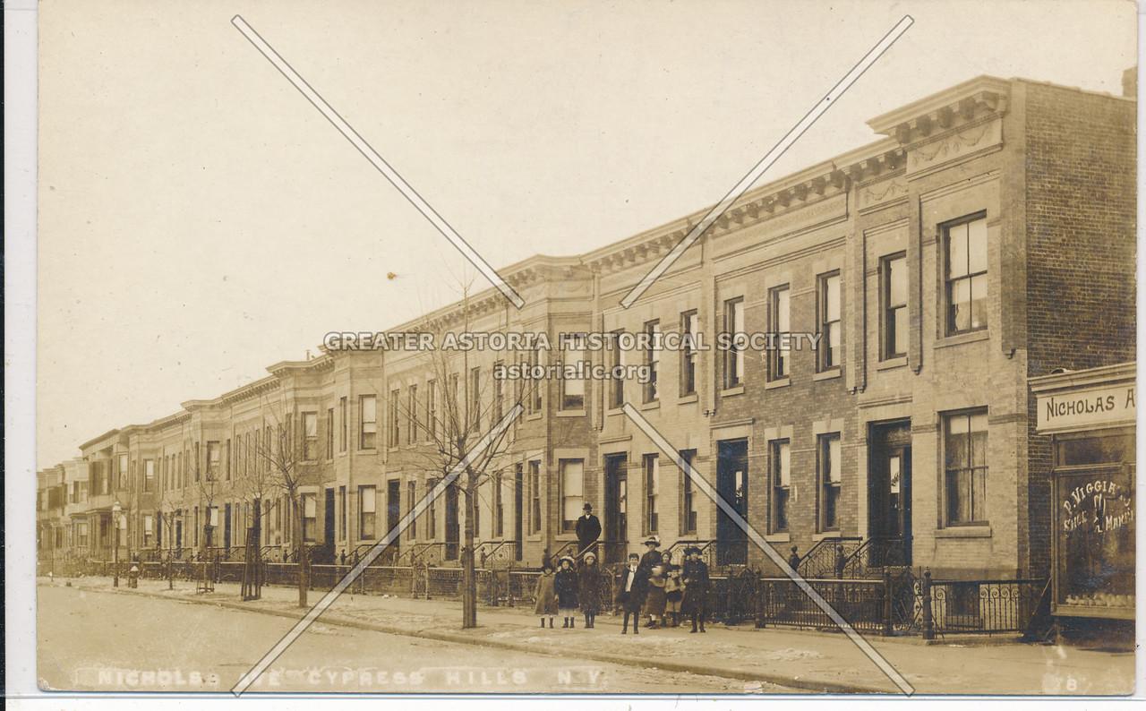 Nichols Ave, Cypress Hills, BK.