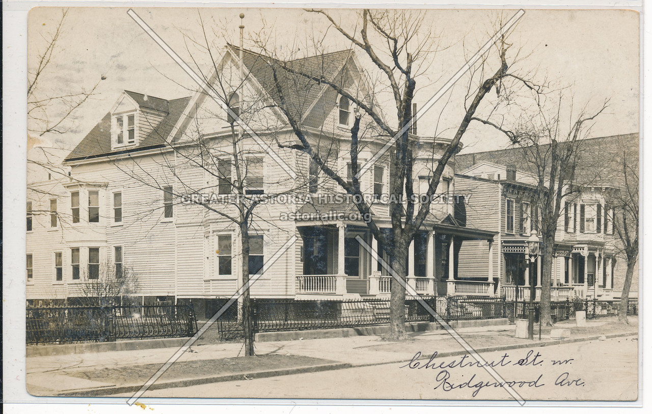 Chestnut Street & Ridgewood Ave., BK.