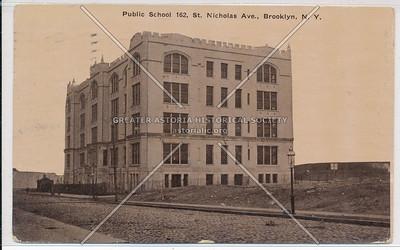 Public School 162, St. Nicholas Ave., BK.