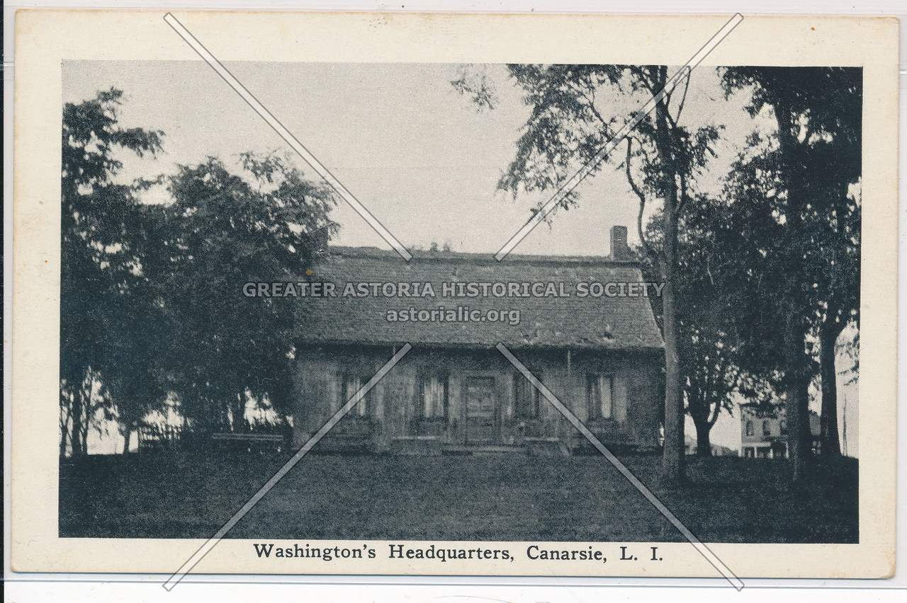 Washington's Headquarters, Canarsie, BK.