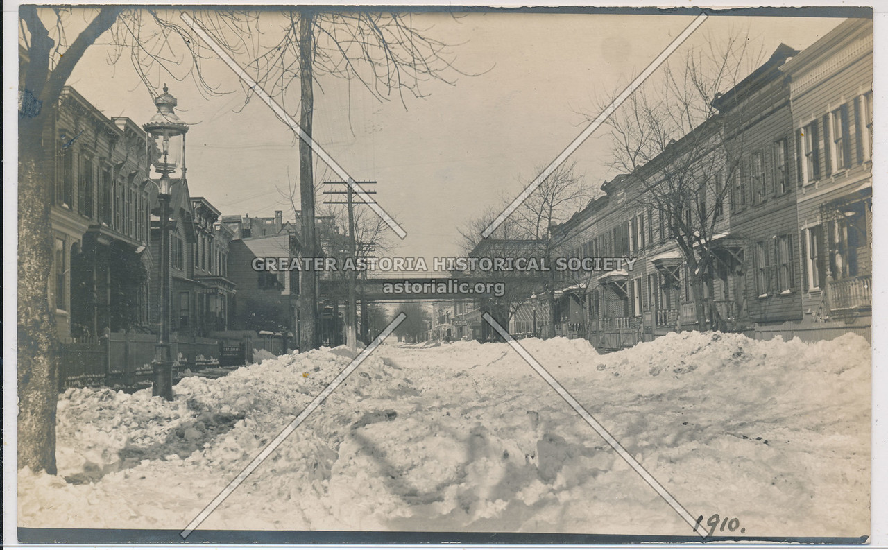 Linwood Street, North toward Fulton St., BK.