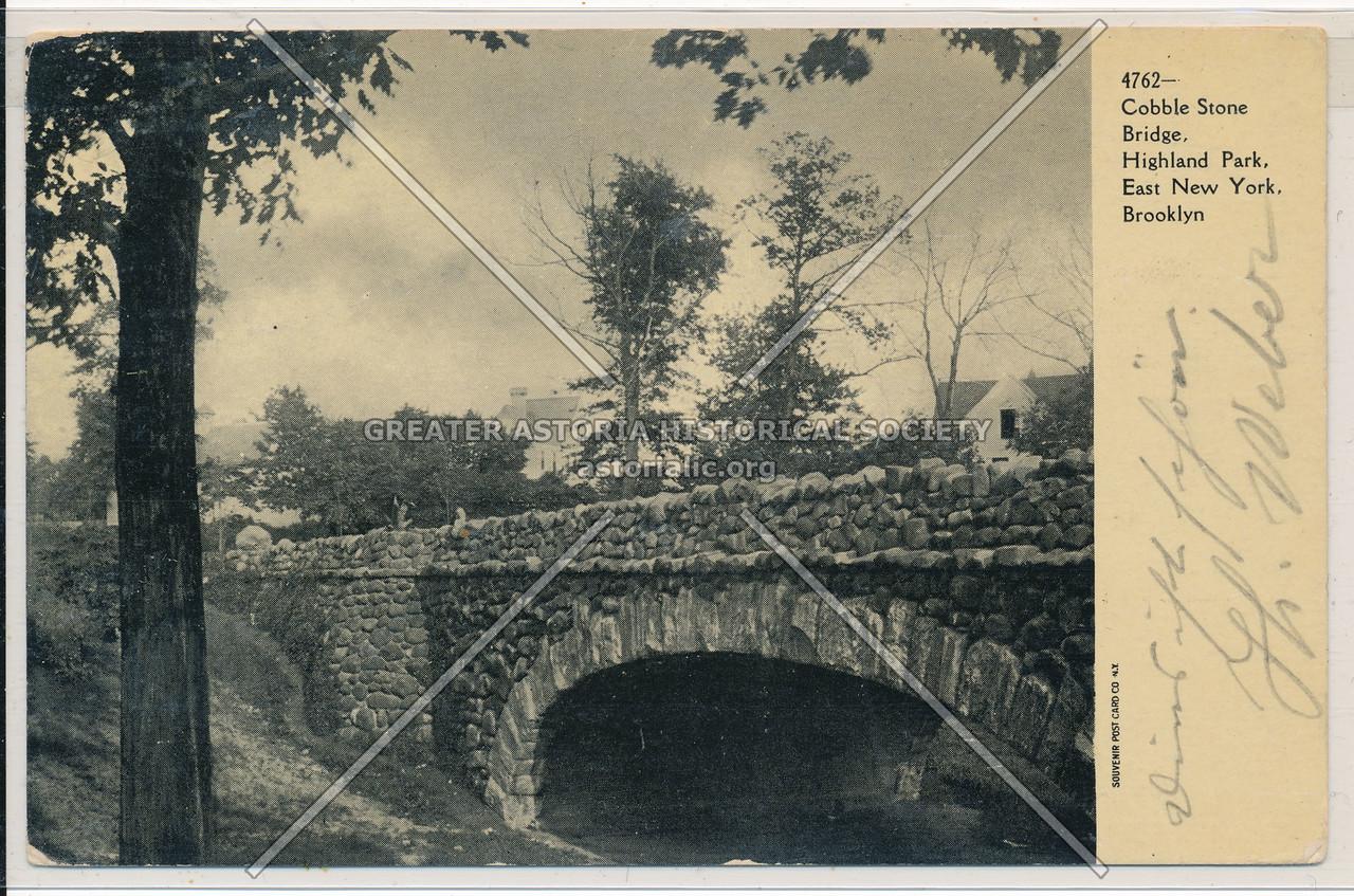 Cobble Stone Bridge, Highland Park, East New York, BK.