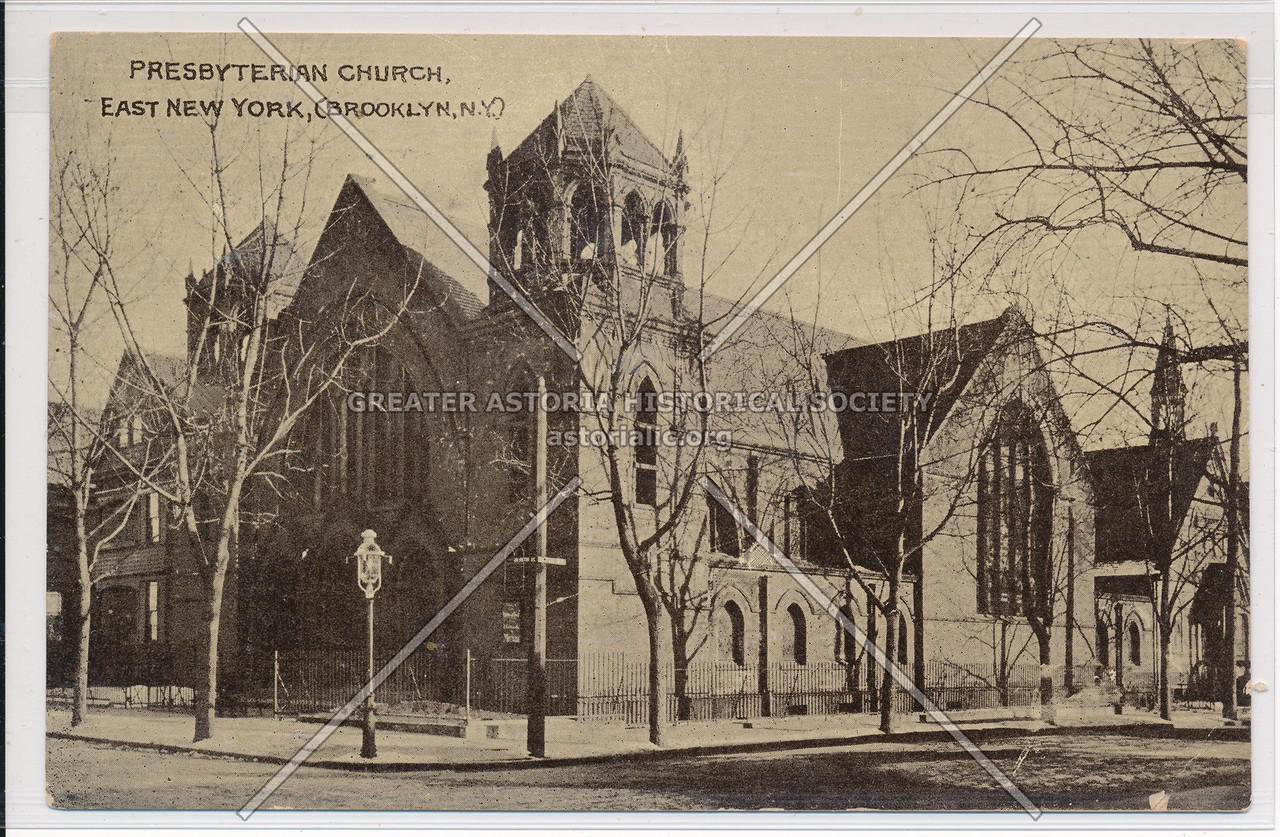 Presbyterian Church, East New York, BK.