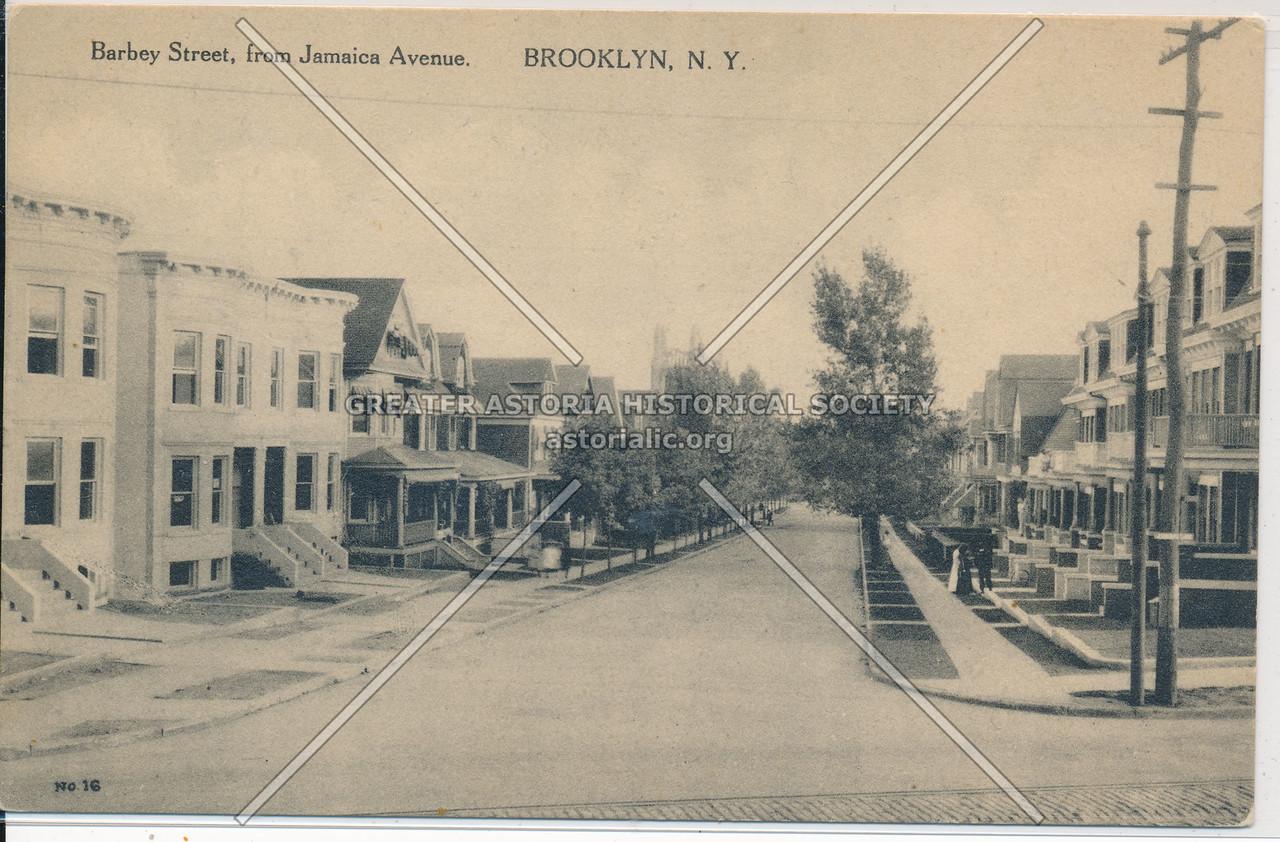 Barbey St. & Jamaica Ave, Bklyn.