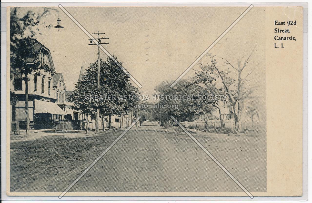 East 92nd Street, Canarsie, BK.