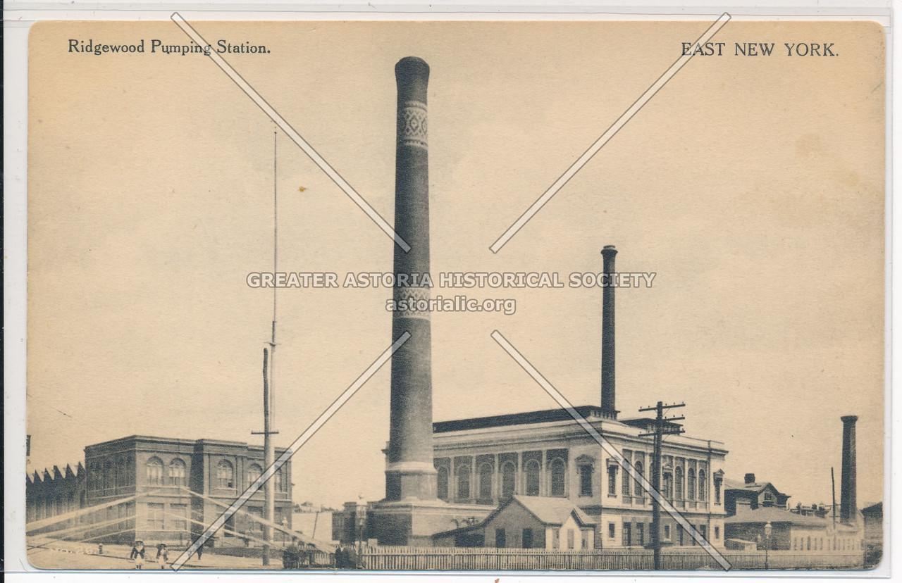 Ridgewood Pumping Stations, East New York, BK.