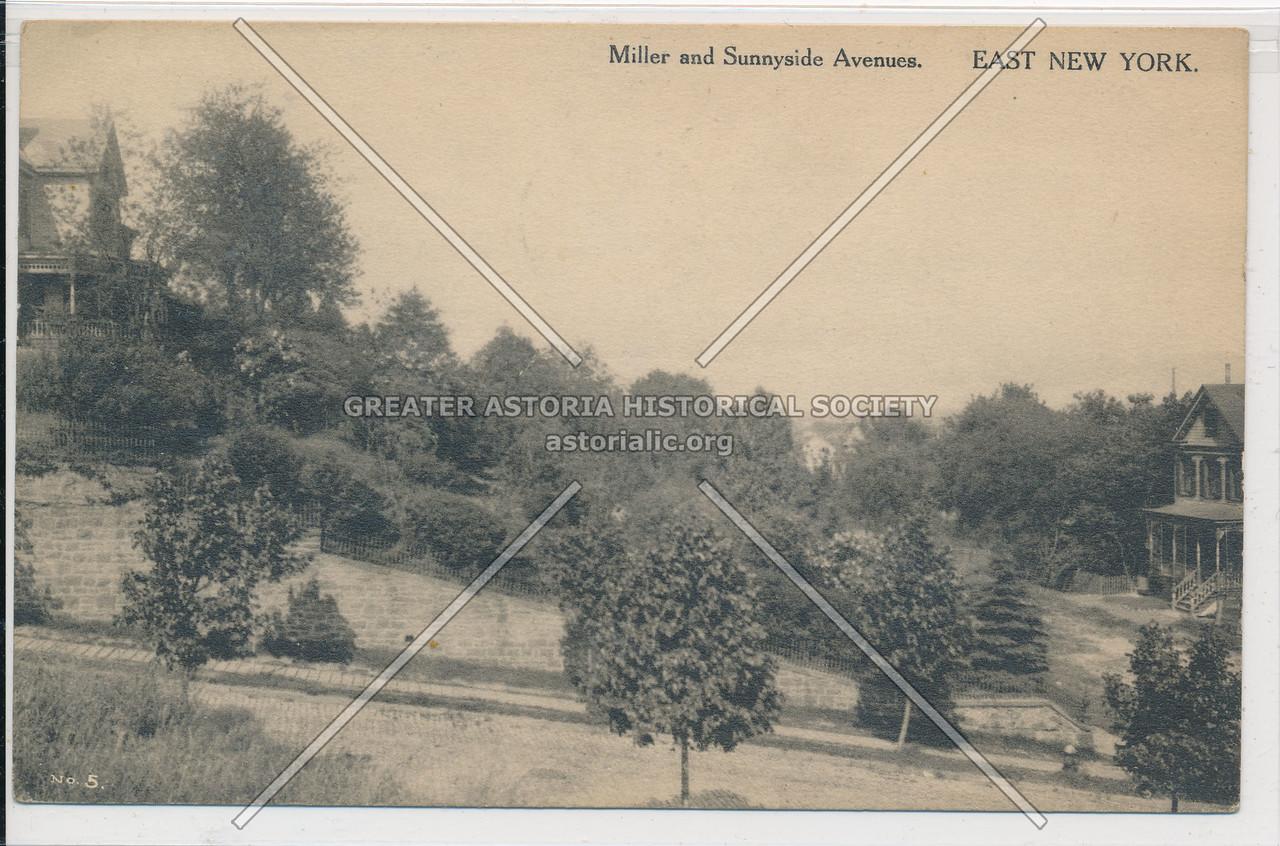 Miller & Sunnyside Aves., East New York, BK.