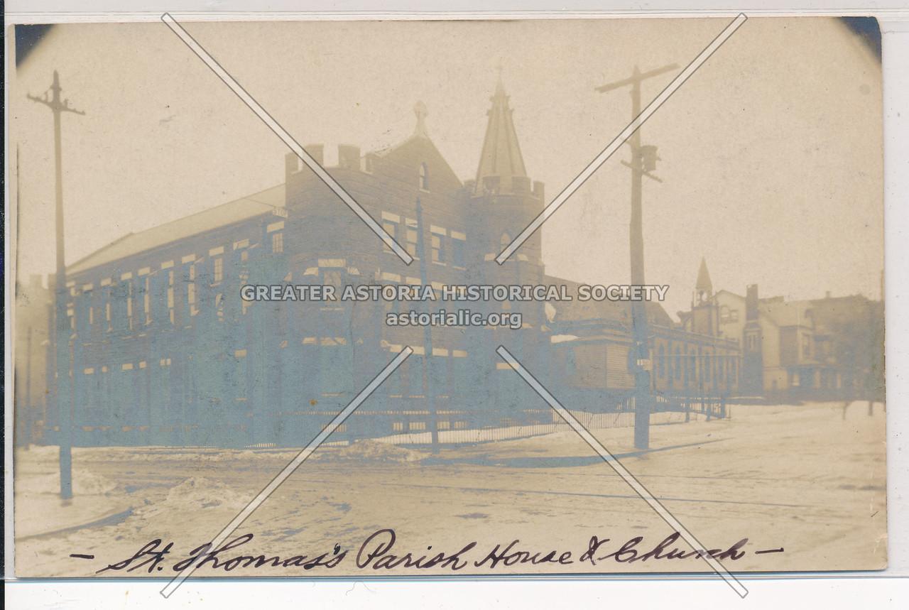 St. Thomas's Parish House & Church, BK.