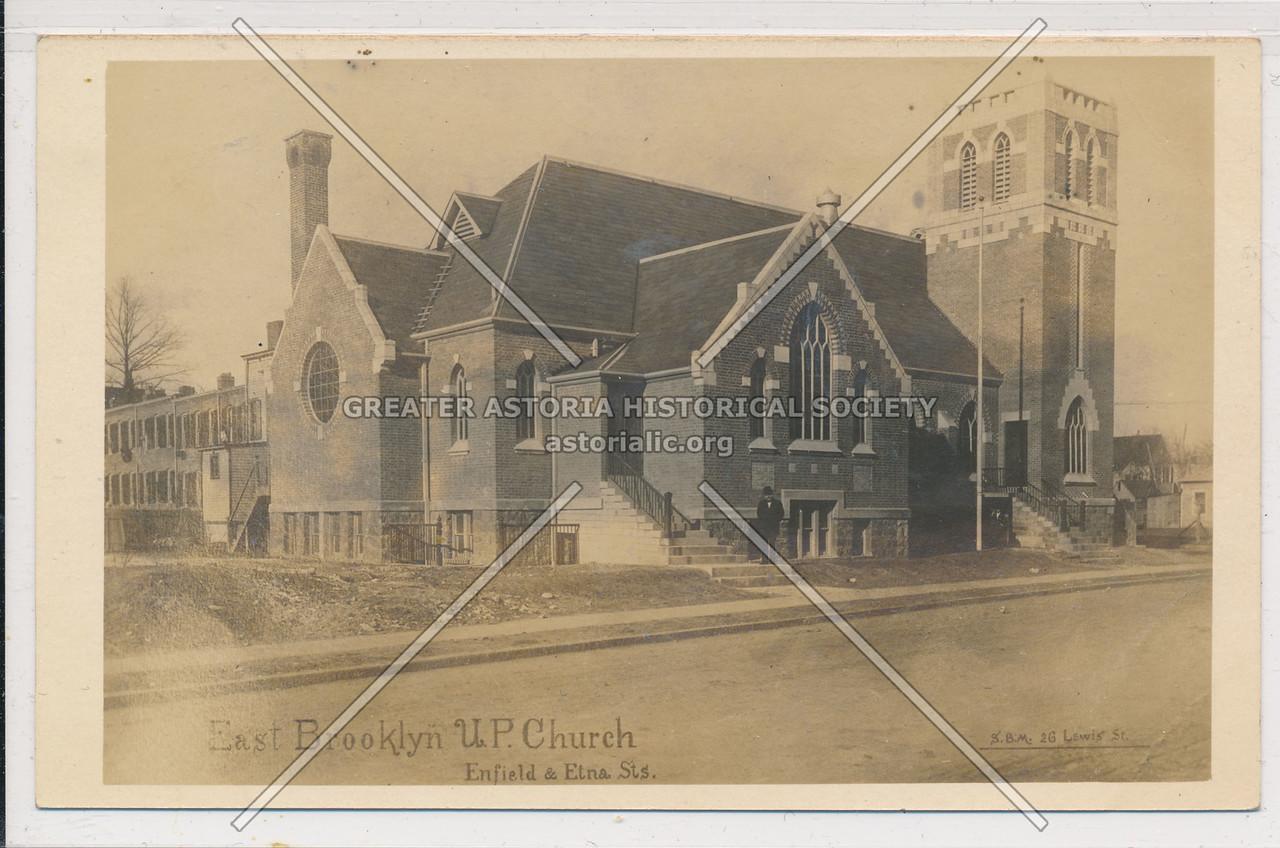 East Brooklyn U.P. Church, Enfield (Eldert Lane) & Etna Streets, BK.