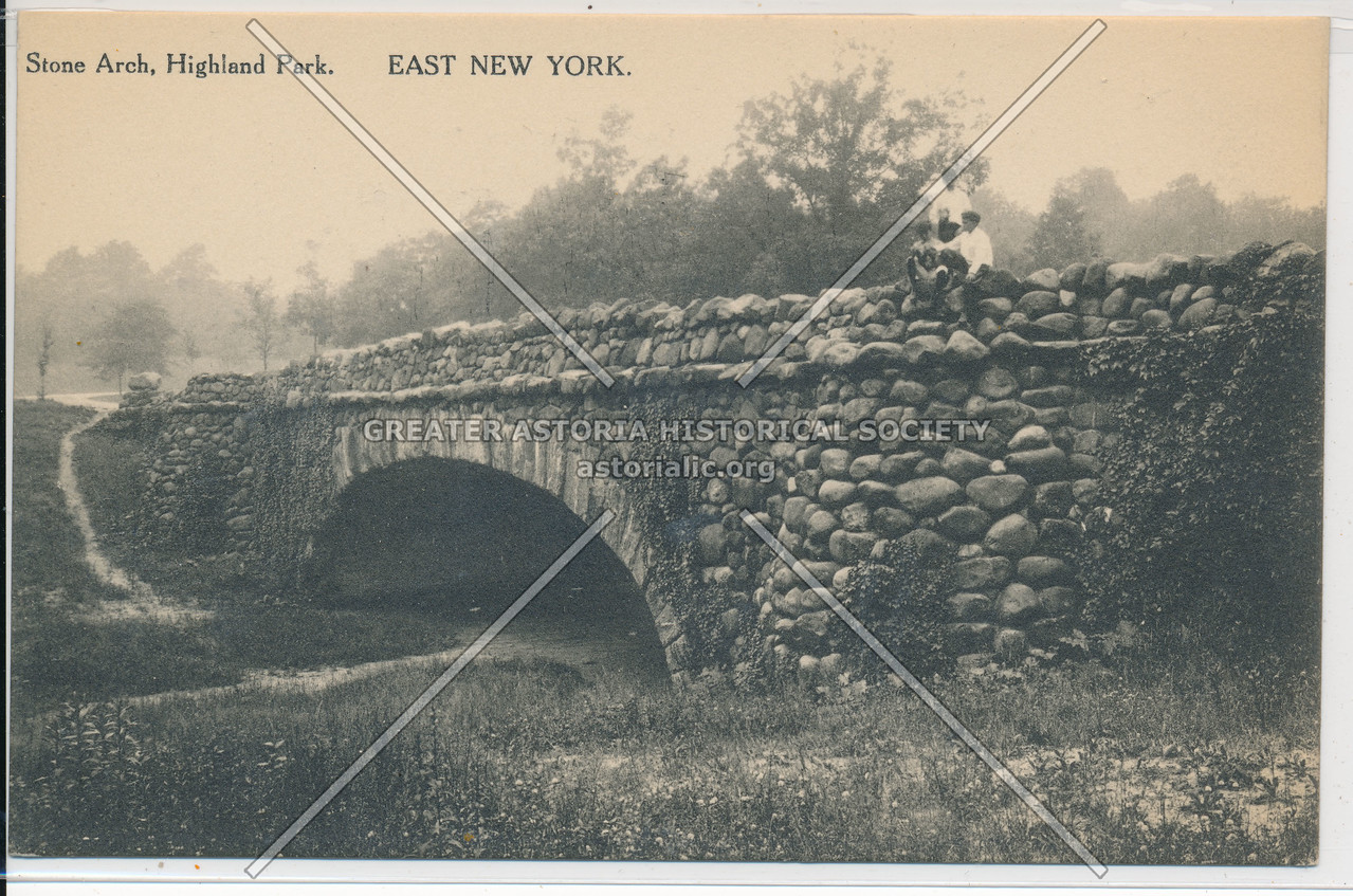 Stone Arch, Highland Park, East New York, BK.