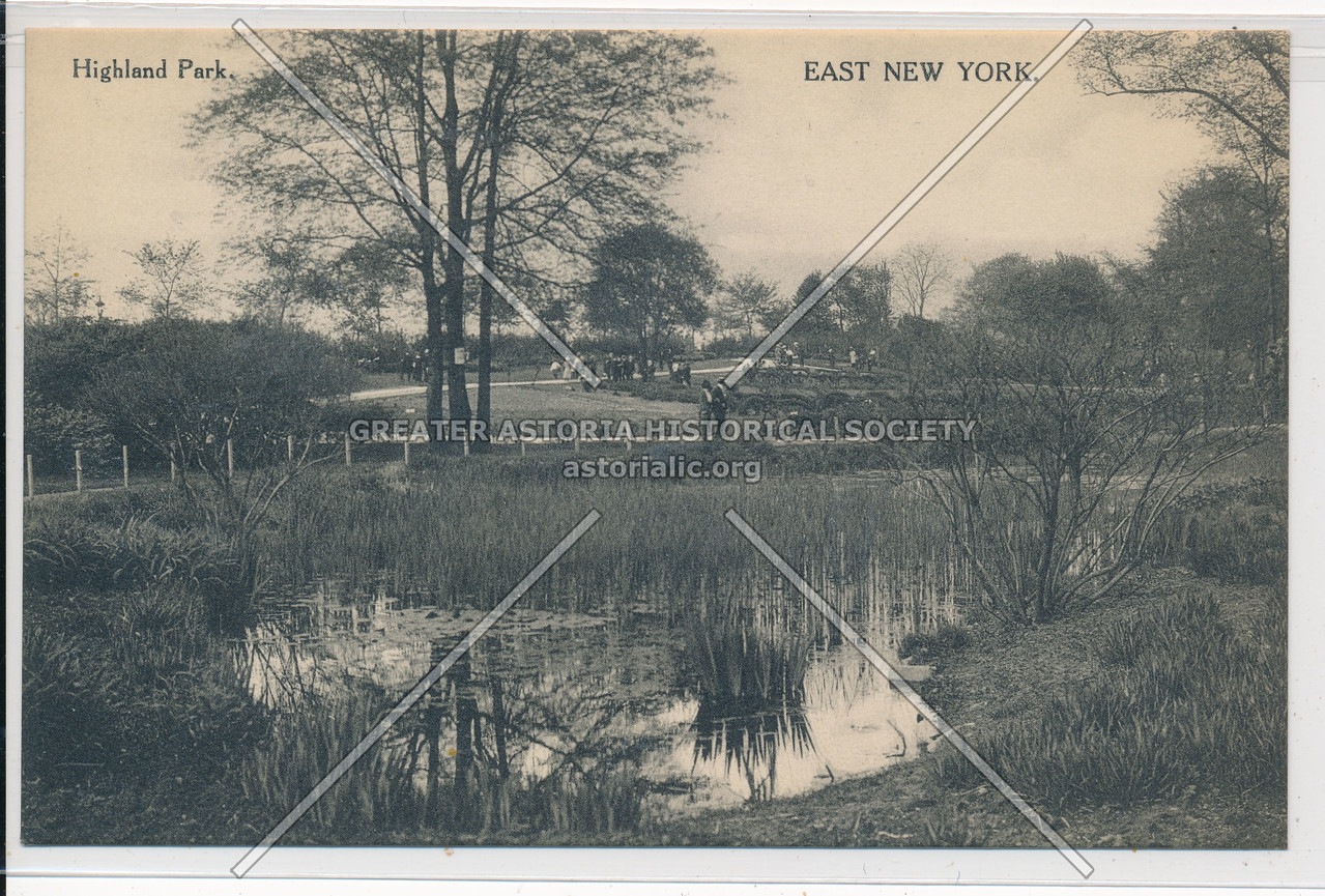 Highland Park, East New York, BK.