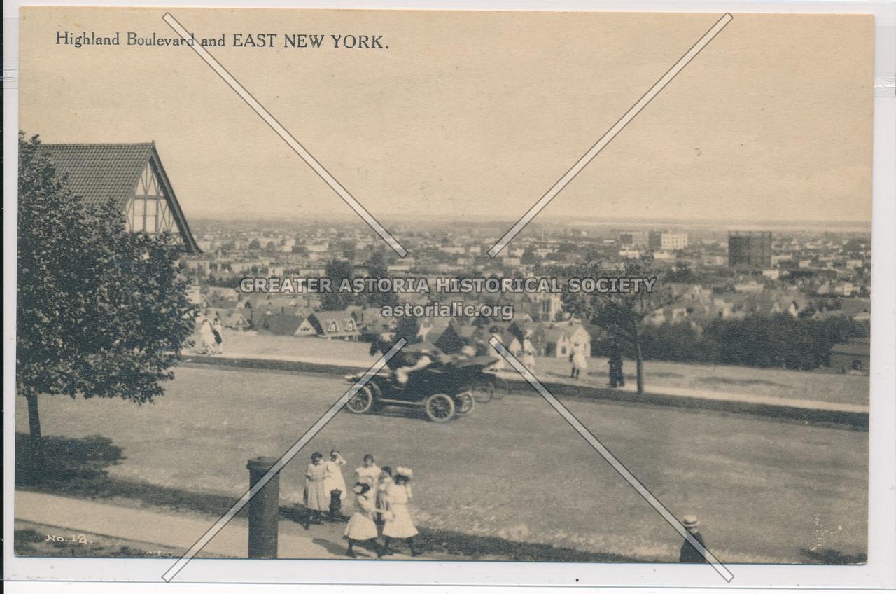Highland Boulevard & East New York, BK.