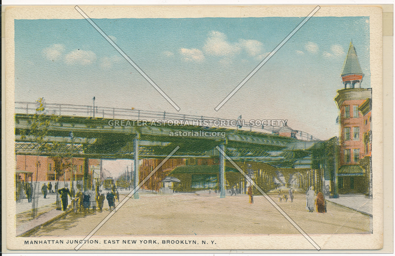 Manhattan Junction, East New York, BK.