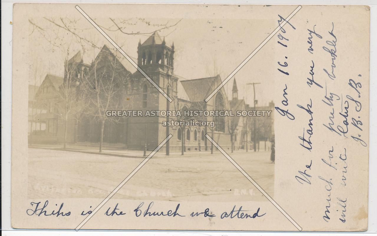 Arlington Ave Pres Church, East New York, BK.