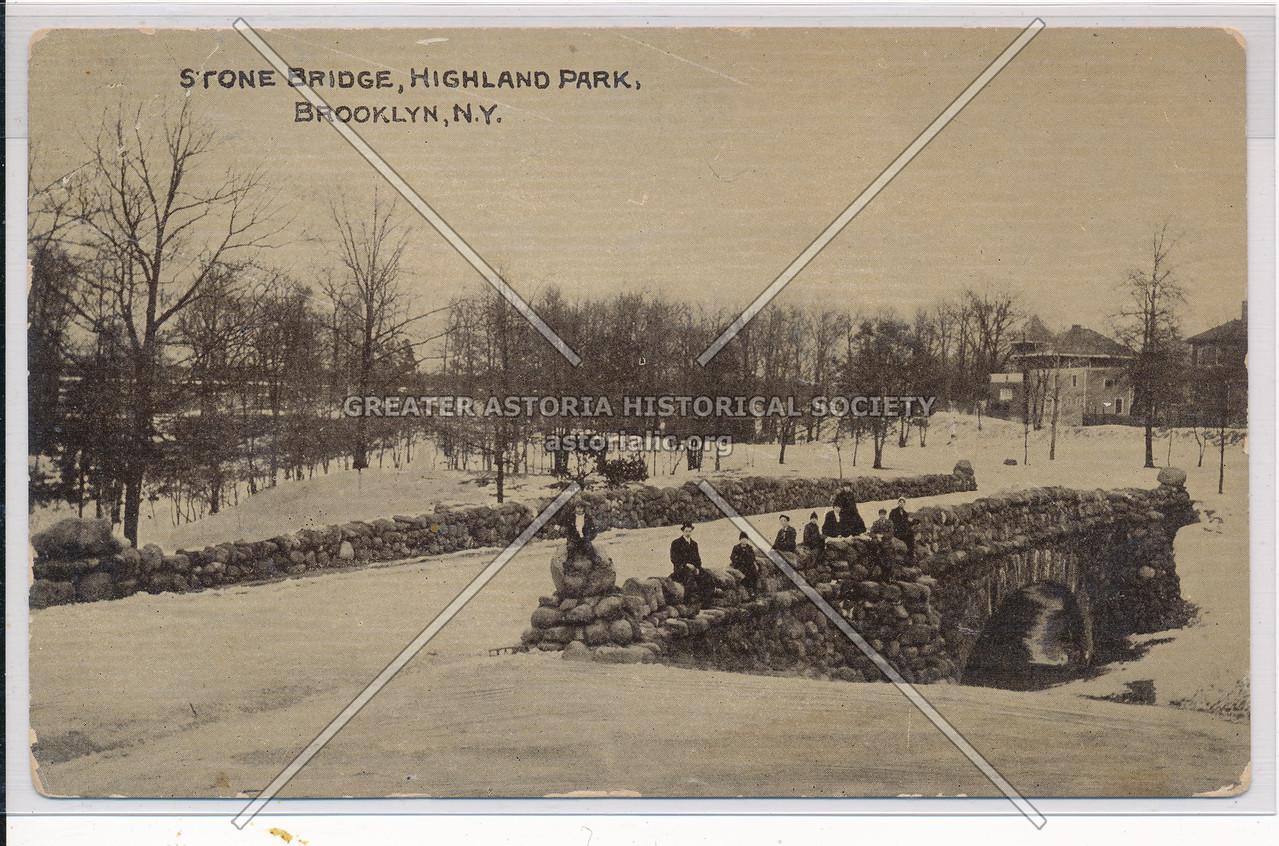 Stone Bridge, Highland Park, BK.