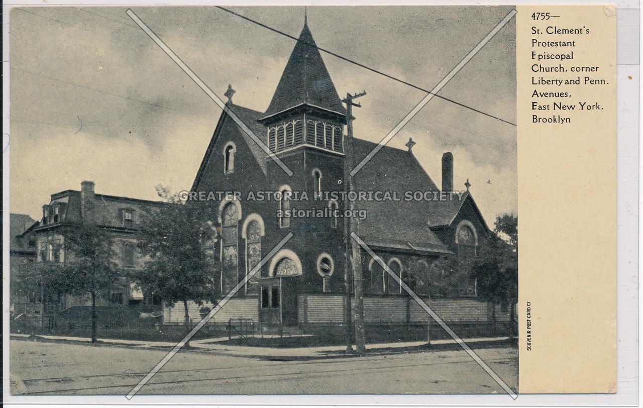 St. Clement's Protestant Episcopal Church, East New York, BK.