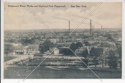Ridgewood Water Works & Highland Park Playground, East New York, BK.
